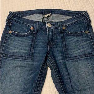 "True Religion Jeans: Women's ""Tony Big T"" denim"